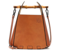 Bucket-Bag Bamboo aus Leder
