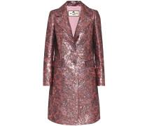 Mantel aus Brokat