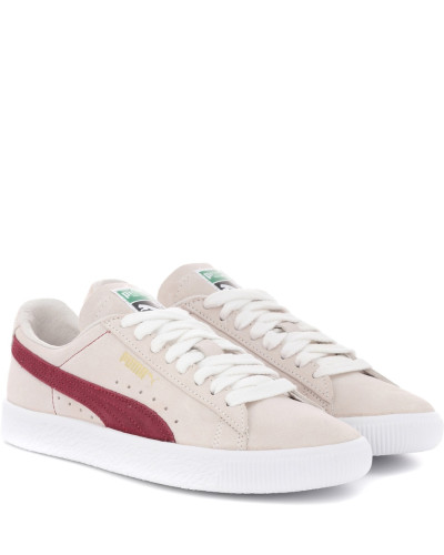 Sneakers Archive aus Veloursleder