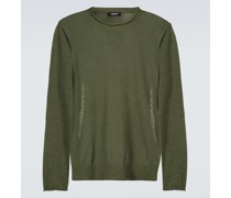 Pullover aus Tech-Material