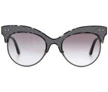 Sonnenbrille mit Leder