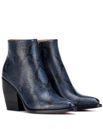 Ankle Boots Rylee aus Leder