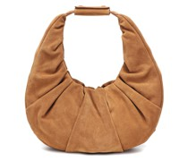 Tote Soft Moon aus Veloursleder