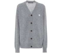 Cardigan Face aus Wolle