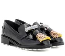 Loafers Georgia aus Lackleder