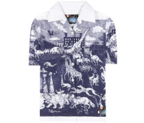 Bedrucktes T-Shirt Survival Utopia aus Baumwolle