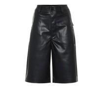 DRKSHDW Shorts AMS aus Lederimitat