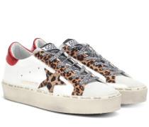 Sneakers Hi-Star aus Leder