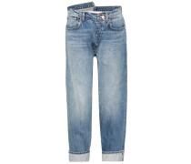 Boyfriend-Jeans aus Baumwolle