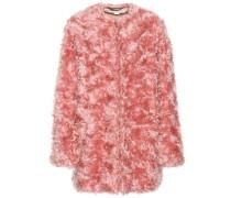 Mantel aus einem Mohair-Baumwollgemisch