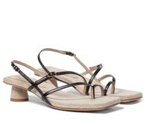 Sandalen Les Sandales Basgia aus Leder