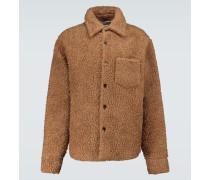 Jacke aus Wolle und Mohair