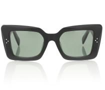 Rechteckige Sonnenbrille S156