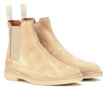 Ankle Boots Chelsea aus Veloursleder