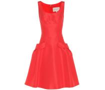 Kleid aus Seidentaft