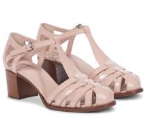 Sandalen Deanne 50 aus Lackleder