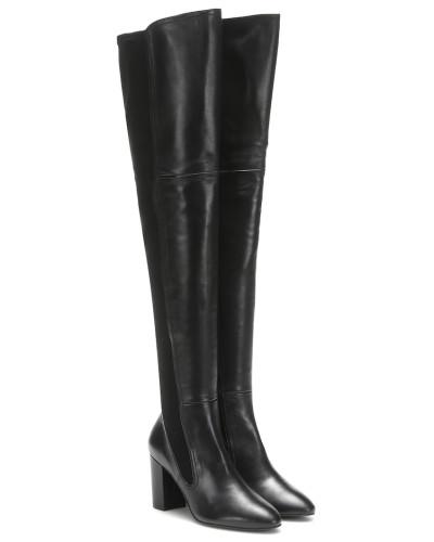 Overknee-Stiefel Fleur aus Leder