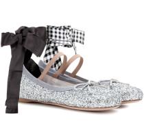 Ballerinas mit Glitter