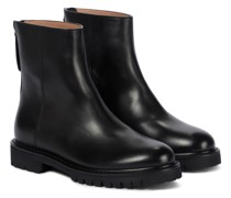 Ankle Boots New Officer aus Leder