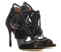 Sandaletten Freya High aus Samt und Mesh