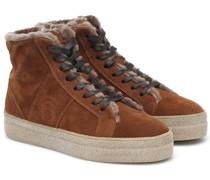 Sneakers Denver aus Veloursleder