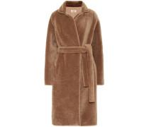 Meteo Teddy-Mantel aus Wolle