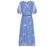 Bedrucktes Kleid Gormann aus Seide