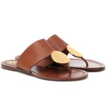 Sandalen Patos aus Leder