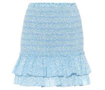 Minirock aus Baumwolle