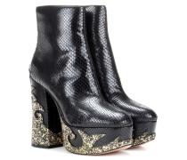 Plateau-Boots Dolls Stasha aus Leder