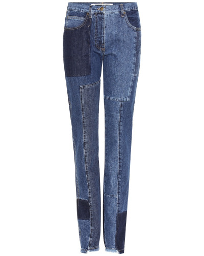 Cropped-Jeans aus Baumwolle