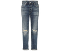 High-Rise Jeans Shangri