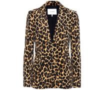 Blazer Cheetah Classic aus Stretch-Baumwolle