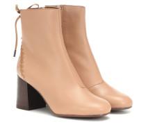 Ankle Boots Reese aus Leder