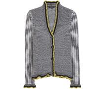 Cardigan aus Wolle, Cashmere und Seide