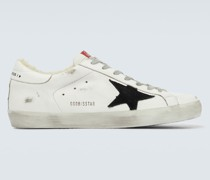 Sneakers Superstar mit Shearling