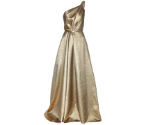 Exklusiv bei mytheresa.com – One-Shoulder-Kleid aus Lamé