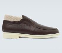 Loafers Open Wintery Walk aus Leder