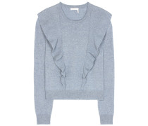 Pullover aus einem Cashmere-Baumwollgemisch