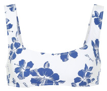 Bedrucktes Bikini-Oberteil Elle