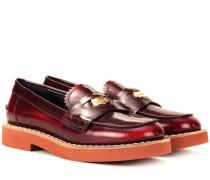 Loafers Penny aus Leder