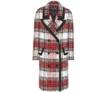 Mantel The Check Coat aus einem Woll-Mohairgemisch