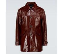 Mantel Buta aus Leder