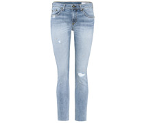 Mid-Rise Cropped Jeans Dre
