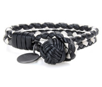 Armband Knot aus Intrecciato-Leder