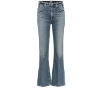 High-Rise Bootcut Jeans Amelia