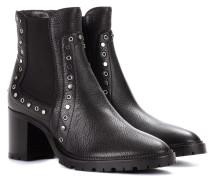 Ankle Boots Burrow 65 aus Leder