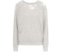 Sweatshirt im Distressed-Look