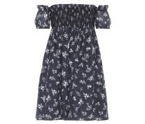 Off-Shoulder-Kleid aus Ramie