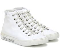 High-Top-Sneakers Malibu aus Canvas